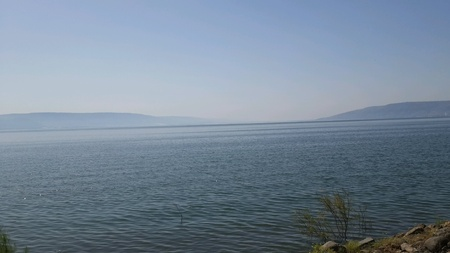 galilee: Sea of Galilee lake