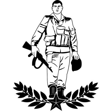 soviet: soldier