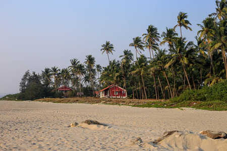 Beautiful little house on the beach north goa