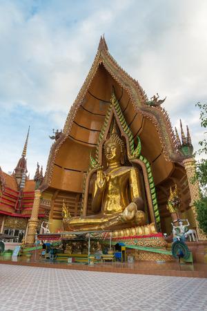 sua: Tham sua temple ,big buddha statue ,Kanchanaburi Thailand Stock Photo