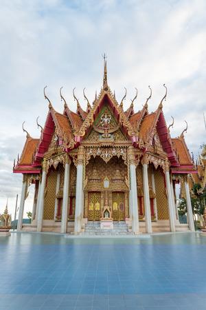 sua: Tham sua temple ,Kanchanaburi Thailand Stock Photo