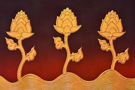 Golden lotus Stock Photo - 11599944