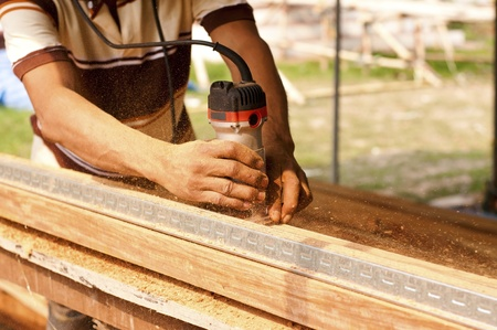 Carpenter Stock Photo - 13013542