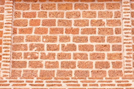 Old red bricks wall background  Stock Photo - 14484811
