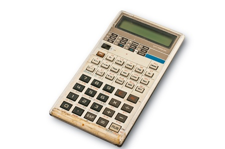 Old calculator  photo
