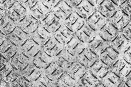 Grunge metal diamond plate  photo
