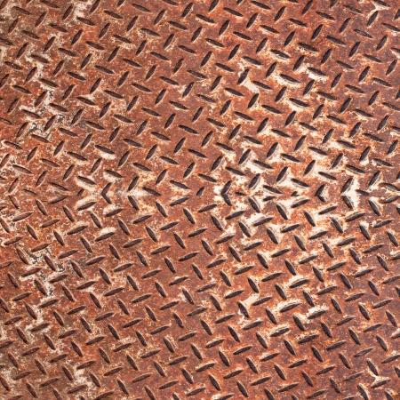Grunge metal diamond plate  photo