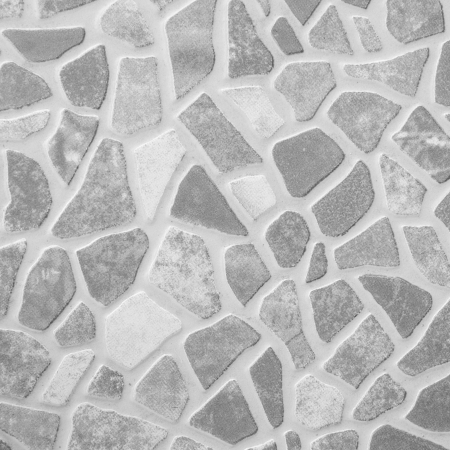 granite floor: black and white rock floor texture  Stock Photo