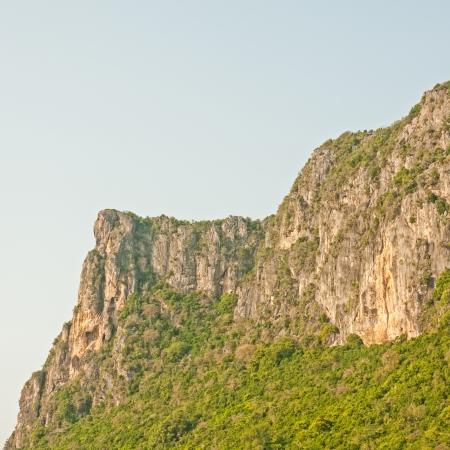 parc naturel: high mountain view near the village, Prachuap Khiri Khan, Thailand