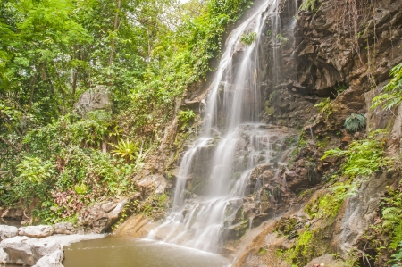 waterfall in Chiang Mai photo