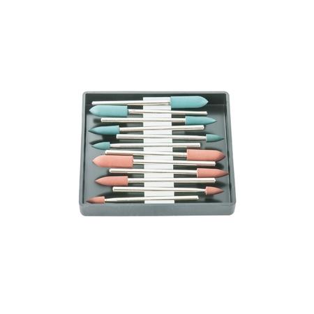 onlays: Equipos tales como taladros o amoladoras un usado en un laboratorio dental, pulidor de metales