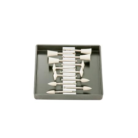 onlays: Equipos tales como taladros o amoladoras una pulidora compuesto utilizado en un laboratorio dental,