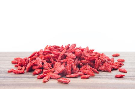 lycii: Red dried goji berries