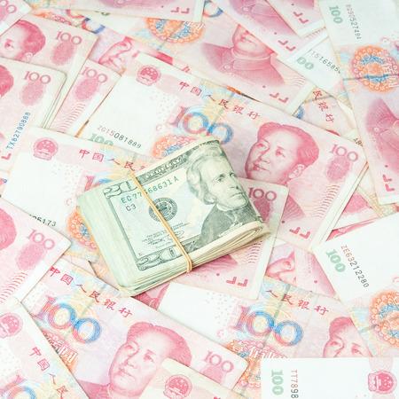 Dollar USA and RMB Chinese
