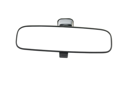 Car Rear view mirror Stock Photo