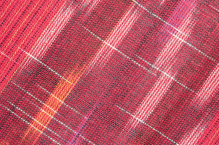 Red rough Fabric Texture, Pattern, Background photo