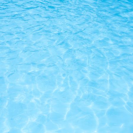 Blue swimming pool Standard-Bild