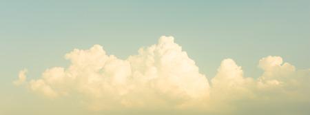 Panorama hemel, vintage lucht Stockfoto