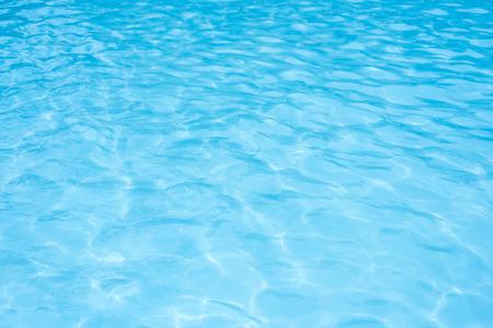 Blue pool water background Standard-Bild