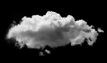 clouds on black background Stockfoto