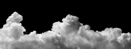ozon: Wolken auf schwarzem Hintergrund Lizenzfreie Bilder