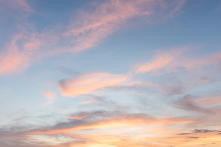 sky sunset background Stock Photo - 44373288