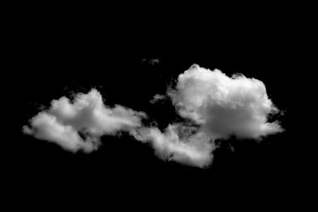 clouds on black background 写真素材