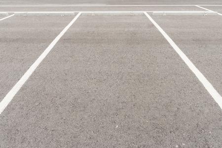 vacant lot: Empty parking lot