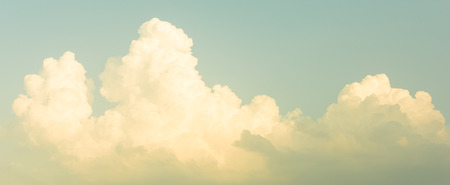 vintage landscape: Panorama sky, vintage sky Stock Photo