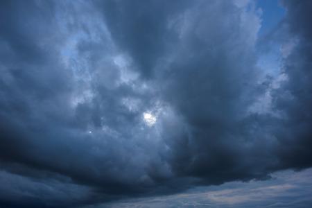 dark: Dark storm clouds