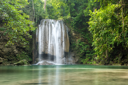 wonderful thailand: Wonderful waterfall in Kanjanaburi Province, Thailand