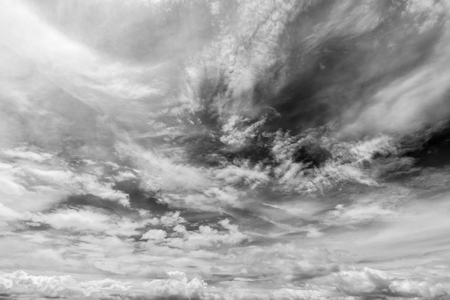 white clouds: Black and white clouds, Sky background