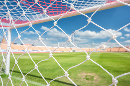 net: football net Stock Photo