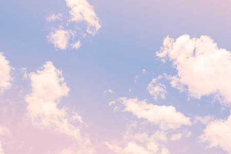 abstract rainbow: Sky with a pastel colored gradient