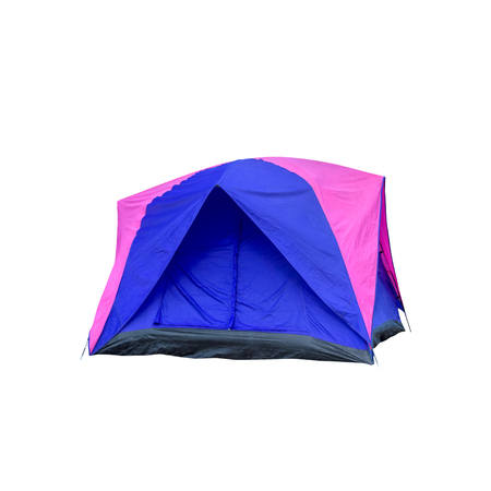 Tent isolated on white, This has clipping path.
