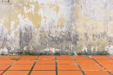 smudged: Mildewed walls