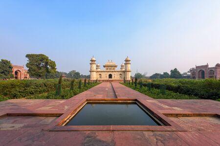 Beautiful Tomb of Etmaduddaula (Bachcha Taj) in the city of Agra in the Indian state of Uttar Pradesh.