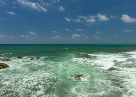 Wonderful and Beautiful sea at Sri Lanka.