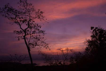 Silhouette at Huay Mae Kamin II