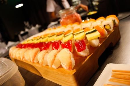 Sushi is wonderful Stock Photo