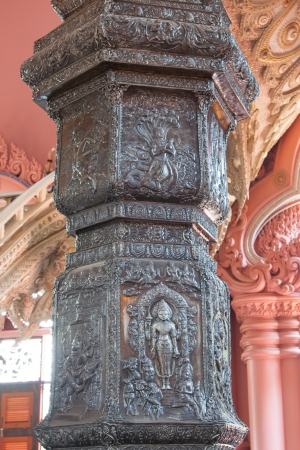 Pole of The Erawan Museum,Thailand Stock Photo - 19164942