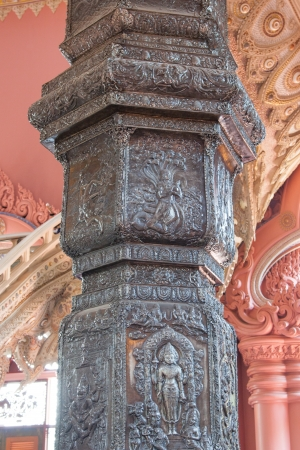 Pole of The Erawan Museum,Thailand photo