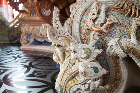 Naga Statue of The Erawan Museum,Thailand Stock Photo - 19164951