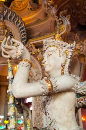 Angel Statue of The Erawan Museum,Thailand III Stock Photo - 19164913