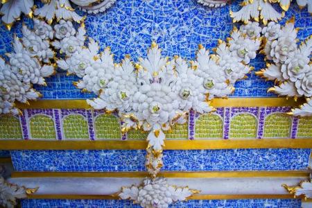 Statue lotus,Art of Thailand Stock Photo - 19157740