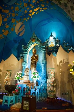Golden Buddha of The Erawan Museum,Thailand III Stock Photo - 19166506
