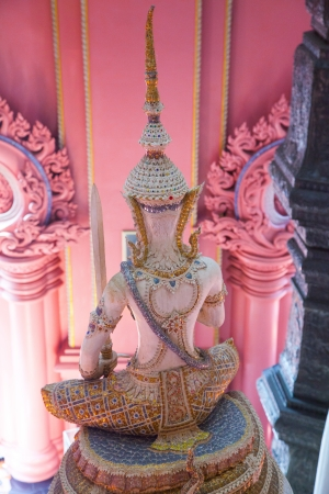 Angel Statue of The Erawan Museum,Thailand photo
