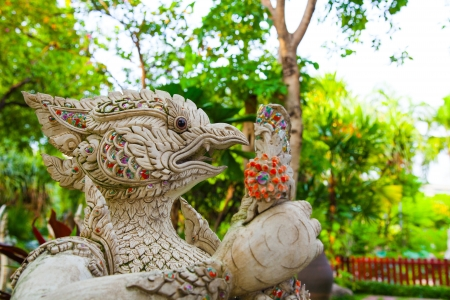 Garuda Statue of The Erawan Museum,Thailand  photo