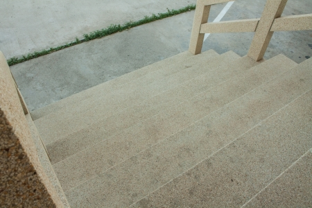 Gravel stairs photo