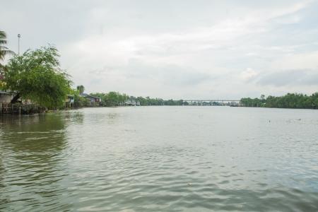 Charming river photo